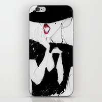 vogue iPhone & iPod Skins featuring Vogue by Missy O'Gara