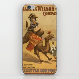 Vintage poster - The Little Corporal iPhone Skin