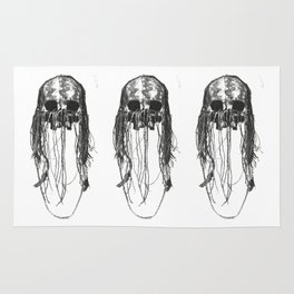 Chaman skull Rug