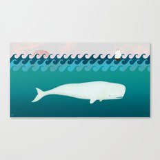 The White Whale Canvas Print