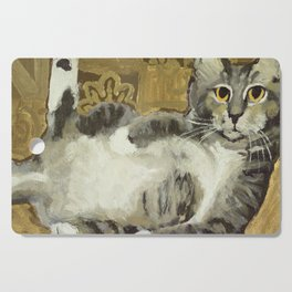 Risque Tabby Cutting Board