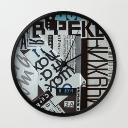 Words 2 Wall Clock
