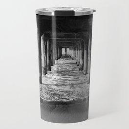 Manhattan Beach Pier | Manhattan Beach Photography | Manhattan Beach Art | Manhattan Beach Print Travel Mug