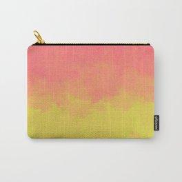 Peach Lime Ombré Carry-All Pouch