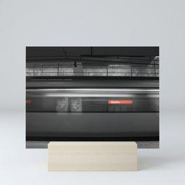 Estacion de metro. Mini Art Print