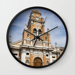 Iglesia Xalteva Catholic Church in Granada, Nicaragua Wall Clock