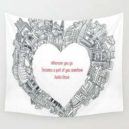 Wherever you go Wall Tapestry