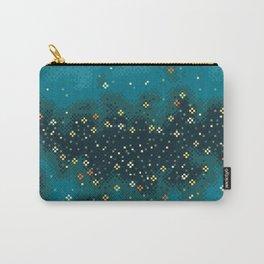 Blue Rift Galaxy (8bit) Carry-All Pouch