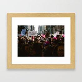 Kiss It Framed Art Print