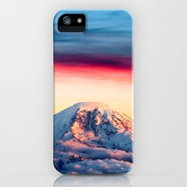 High on a Mountaintop iPhone Case