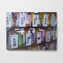 Finding Kawaii Ice Cream in Tokyo Metal Print