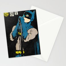 Karaoke Bat-Man Stationery Cards