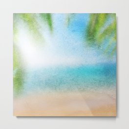 Tropical Sea #3 Metal Print