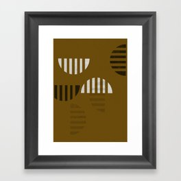 Fragments Framed Art Print
