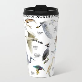 Herons of North America Travel Mug