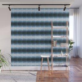 Water Reflection Stripe Wall Mural