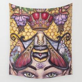 Bee The Light by DeeDee Draz Wall Tapestry
