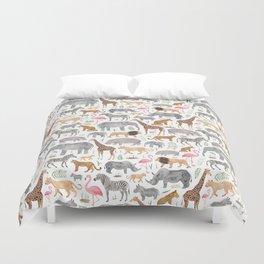 Safari Animals Duvet Cover