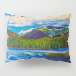 Lonesome Lake Painting Pillow Sham