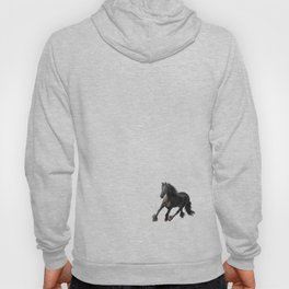 Drawing horse Hoody