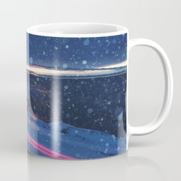 Driving Snowstorm Coffee Mug
