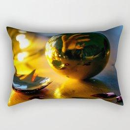 Destructive Christmas by Janina Rectangular Pillow