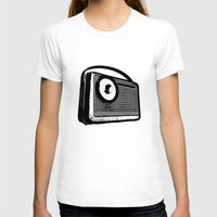 transistor T-shirts featuring TRANSISTOR RADIO PORTABLE by Sofia Youshi