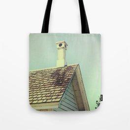 Summer cottage gable roof Tote Bag
