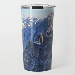 Mont Blanc, Chamonix. Travel Mug