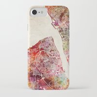 liverpool iPhone & iPod Cases featuring Liverpool by MapMapMaps.Watercolors