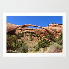 Beautiful Landscape Arch Art Print