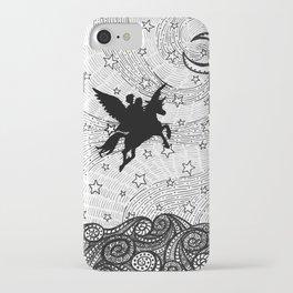 Flight of the alicorn iPhone Case