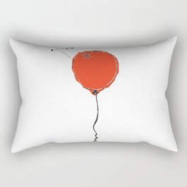 Awkward Balloon Rectangular Pillow