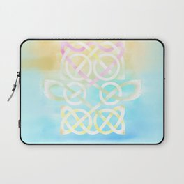 Water Lily and Fish Laptop Sleeve
