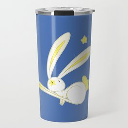 Star Bunny Bouncing Travel Mug