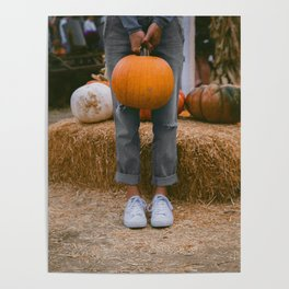 Her Pumpkin (Color) Poster