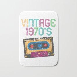 Vintage 1970's Funny Cassette Retro Bath Mat