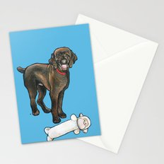 Milo the Poodle with his Monkey Stationery Cards
