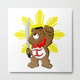 Care Bears Bonifacio Metal Print