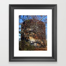 Rusted and Forgotten Framed Art Print