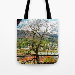 Window to the Tree of Life Tote Bag