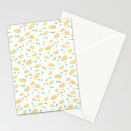 Peachy Florals Stationery Cards