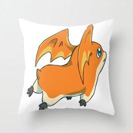 Patamon Throw Pillow