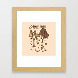 Joshua Tree National Park Framed Art Print