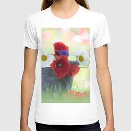 Poppies Symphonies T-shirt