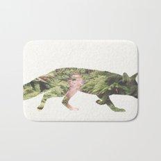 The Curious Fox Bath Mat
