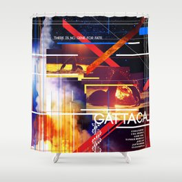 Visions of the Future :: Gattaca Shower Curtain