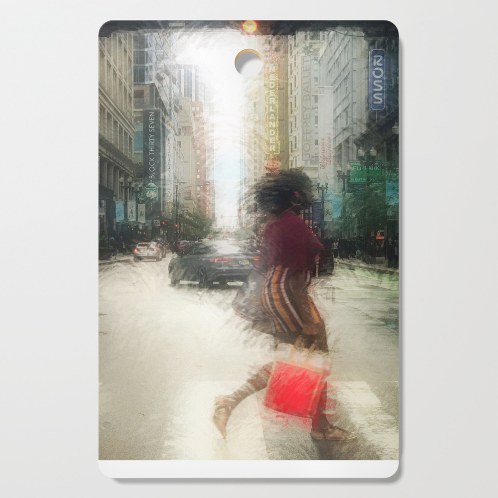 The Red Purse Cutting Board by claireparins (DCB13202022) photo