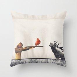 Le tir Throw Pillow