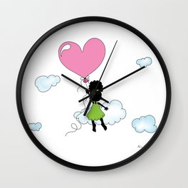 Sister Gets Lifted... Wall Clock